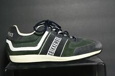 Bikkembergs Start Low Sneaker Athletic Multi Belgium Men 12 45 Suede Nylon Hip