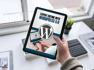 WordPress WP 5 Gutenberg Video Training Course on DVD-Rom + Download Link