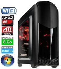 PC Gamer - AMD A6 - 2 x 3.9 Ghz - 1000Go - Ram 8 Go - WiFi - Windows - PROMO 2