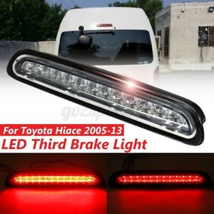 LED 3rd Rear Tail Stop Light High Mount Lamp For Toyota Hiace HiAce/Commuter