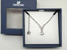 """Authentic Swarovski """"SOLITAIRE"""" aka """"SS CARAT""""  Crystal Pendant  New in Box"""
