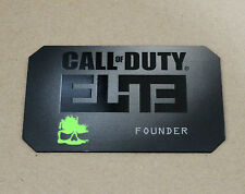 COD Call Of Duty Elite Founder Metal Card Collectible
