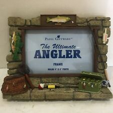 Ultimate Angler Picture Frame Holds 4x6 Photo NIB