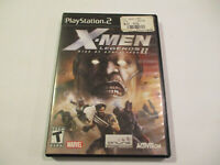 X-men Legends II for  PS2  Used in Very Good condtion W Manual Free Shipping