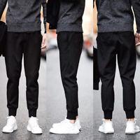 Men Harem Pants Track Thin Section Sports Trousers Sweatpants Joggers M-5XL