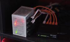 Tiny Raspberry Pi 'Server Rack' Case (4 slots) V2
