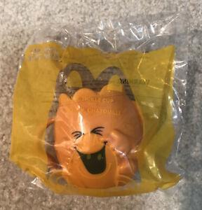 Mr Men Little Miss Mr Tickle Orange Figure Cup McDonald's Happy Meal Toy 2021