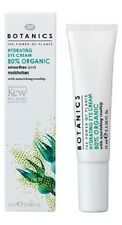 Boots Botanics Hydrating Eye Cream 80% Organic 15ml NEW