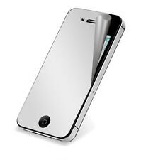5 Mirror Reflect Screen Protector Cover Guard for iPhone 4 & 4S