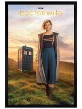 Doctor Who Framed Poster 13th Doctor Black Wooden Frame 61x91.5cm