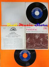 LP 45 7'' ORCHESTRA FILARMONICA BOEMA JAROSLAV VOGEL Parsifal WAGNER cd mc dvd