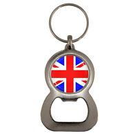 UK Flag Bottle Opener Keyring Great Britain Pride United Kingdom British isles