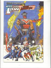 Marshal Law Takes Manhattan 1989 Kev O'Neill Epic Comics  US Comics