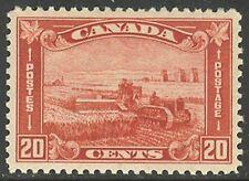 Canada #175, 1930 20c Harvesting Wheat, Unused Hinged