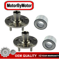 Front Wheel Bearing & Hub 2 pcs Kit for 2009-2013 Mazda 6 2.5L 4 Cylinder Models