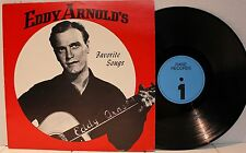 Rare Country LP- Eddy Arnold's Favorite Songs- Rare Records #1135-Holland Import