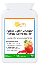 Apple Cider Vinegar Herbal Combination with Turmeric. DIGESTIVE HEALTH & WEIGHT.