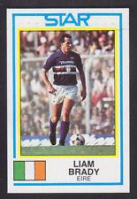PANINI-CALCIO 85 - # 254 Liam Brady-in Eire
