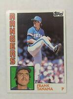 1984 Topps Frank Tanana Baseball Card #479 Texas Rangers