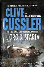VOS9ZEMW2U L'ORO DI SPARTA - CLIVE CUSSLER, GRANT BLACKWOOD - LONGANESI 3454