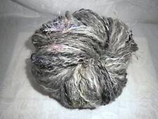 Handgesponnene Wolle, Art Yarn, Effektgarn, Strickgarn, Merinowolle Gotlandwolle