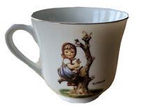 "M.J. Hummel Tea Cup ""Apple Tree Girl"" Danbury Mint Gobel Ars Made in Japan"