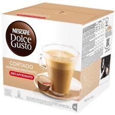 Caja de 16 Capsulas Cafe Nescafe Dolce Gusto Cortado Descafeinado Original