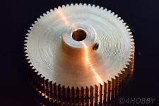 Zahnrad 75 Ritzel Modul 0,5 Messing Nabe 5mm Welle Antrieb RC Extruder RepRap 3D