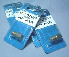 """(5) NEW AIR CONDITIONER R12 to R134 ADAPTOR 1/4"""" F FLARE to 1/2"""" M 530-82634"""