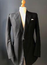 (024) Vintage Savile Row short morning suit size 38 long