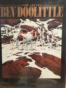 HB GIFT BOOK Bev Doolittle Art OOP $60 Western Native Americans Indians DEAL $22