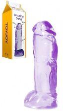 Fallo realistico maxi dildo grande enorme pene in jelly sex toys trasparente big
