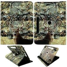 "Qone Tail DeerCamouflgFor Dell Venue 8 Pro 8"" Tablet Case Cover Syn Leather Glob"