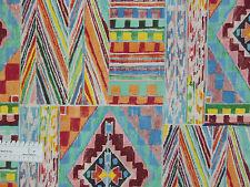 17,45€/m² => 25cmx110cm: Ethno Muster - Alexander Henry, Patchworkstoff