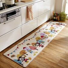 DISNEY Mickey Friends Kitchen Room Mat Rug Small Carpet Anti-Slip Gift E5859