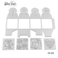 3D Box Metal Cutting Dies for DIY Scrapbooking Decor Card Making Craft Supplies