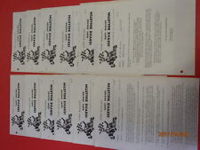 Race gokart LOT OF 12 VINTAGE MCCULLOCH KART ENGINES SERVICE BULLETINS 1968-1973