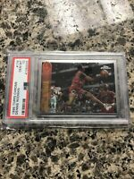 Dennis Rodman Topps Chrome PSA 10 Ultra Rare Low Pop!!!  Bulls 1998
