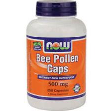 Bee Pollen 250 Caps 500 mg by Now Foods