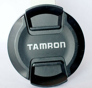 Tamron 67mm centre pinch front lens cap.