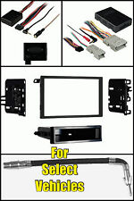 Car Stereo Radio Install Dash Kit+Bose/Onstar Wire Harness+Ant +Steering Adapter