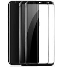 2x Curved Displayschutzglas für Samsung Galaxy S8 - Panzer Glas Folie Full Cover