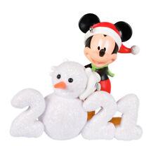 2021 Hallmark Keepsake Ornament Disney Mickey Mouse a Year of Disney Magic Snowm