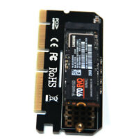 M.2 NVMe SSD NGFF to PCIE 3.0 X16 Adapter M Key Interface Card FULL SPEED New