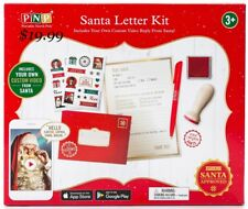 North Pole Santa Letter Kit Personalized Your Video Message from Santa