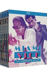 Miami Vice Complete Series ALL Seasons 1 2 3 4 5 Blu-ray Set Collection Show Box