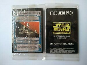 Star Wars ccg sealed Jedi Pack & OTSD Booster Pack -> 29 promo cards in total