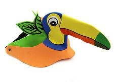 Woodpecker Bird Animal Zoo Safari Jungle Foam Fancy Dress Costumes Hat Cap Visor