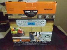 Sylvania Under Counter CD Player with Radio and Bluetooth