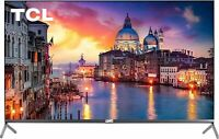 """TCL 65"""" 6-Series 4K QLED Dolby Vision HDR Roku Smart TV - 65R625 - Refurbished"""